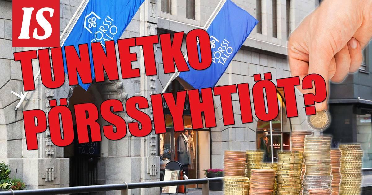 Suomalaiset Pörssiyhtiöt