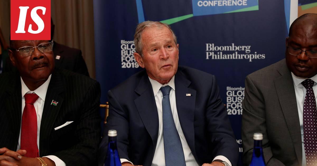 George W. Bush's spokesman denies the news that Bush would not vote for  Trump - Teller Report