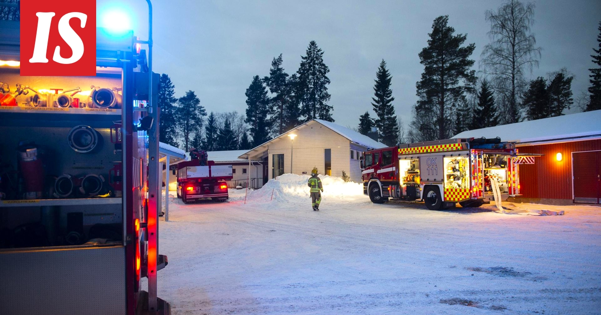 Tulipalo Vantaa