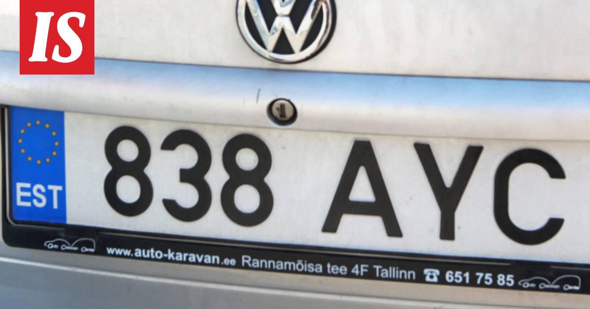 Näin saat selville Suomessa liikkuvan virolaisauton tiedot – ilmaiseksi! - Autot - Ilta-Sanomat