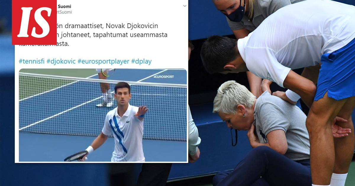 How Novak Djokovic Hit The Ball In The Throat The Video Shows The Moment When The Tennis Star Realizes Everything Is Completely Wrong Teller Report