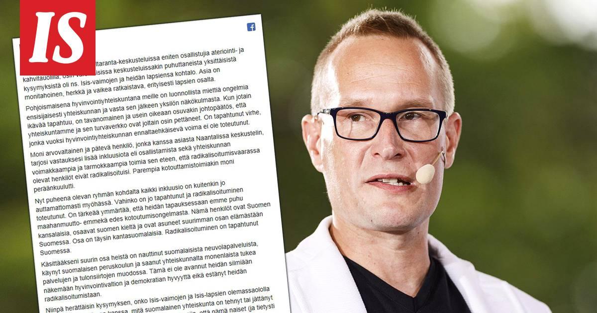 """Tutkijalta suorat sanat Isis-vaimoista: """"Olisi tullut ottaa Suomen kansalaisuus pois siinä vaiheessa, kun he päättivät lähteä"""""""