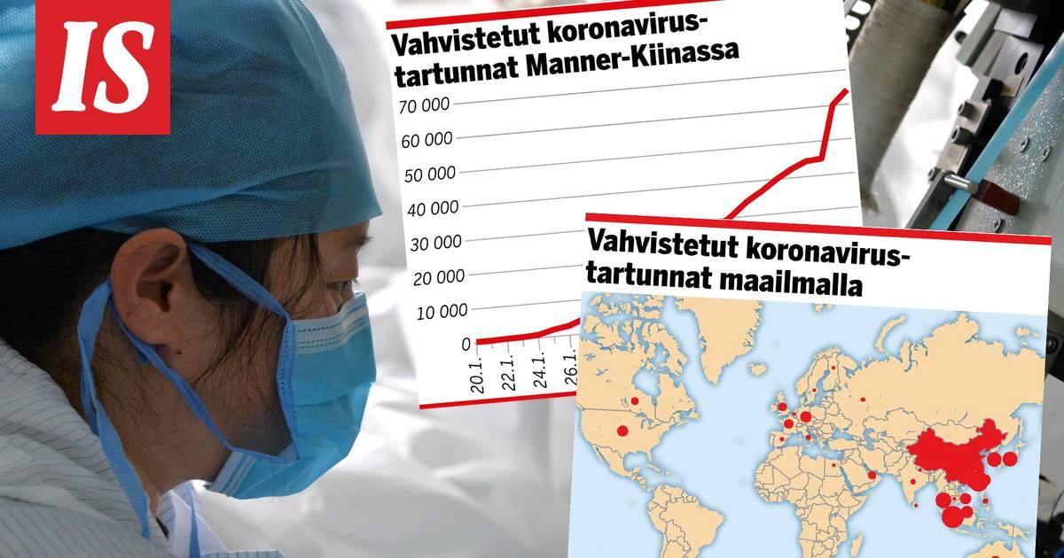 Koronavirus tartunta kartta