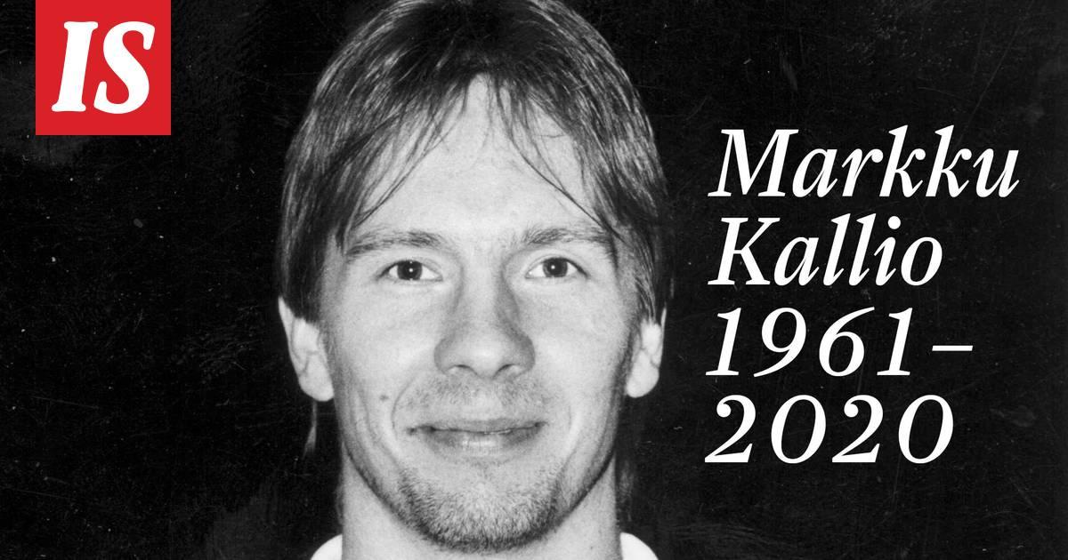 Entinen jalkapalloilija Markku Kallio on kuollut 58