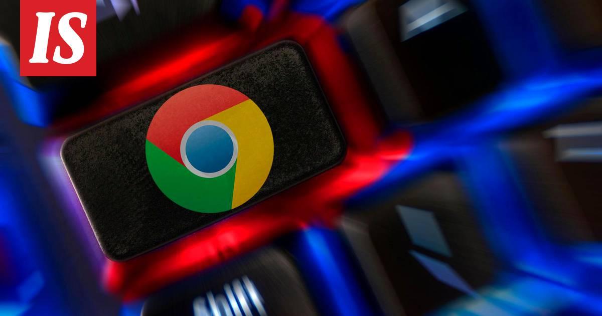 Tietoja Google Chromesta