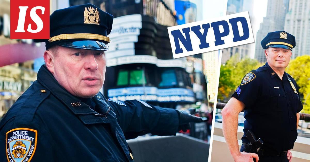 """Kirkkonummelainen Jorma tekee uraa New Yorkin poliisissa  """"Minut valittiin  taskuvarasyksikköön ulkonäköni perusteella"""" - Kotimaa - Ilta-Sanomat d6b732cf64"""