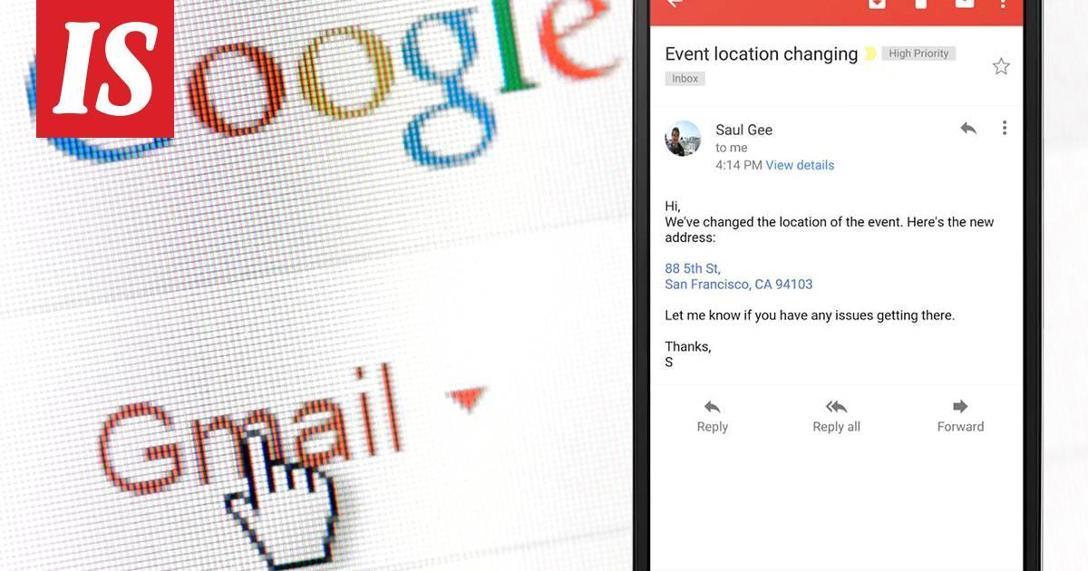 Sähköpostiosoitteet Gmail