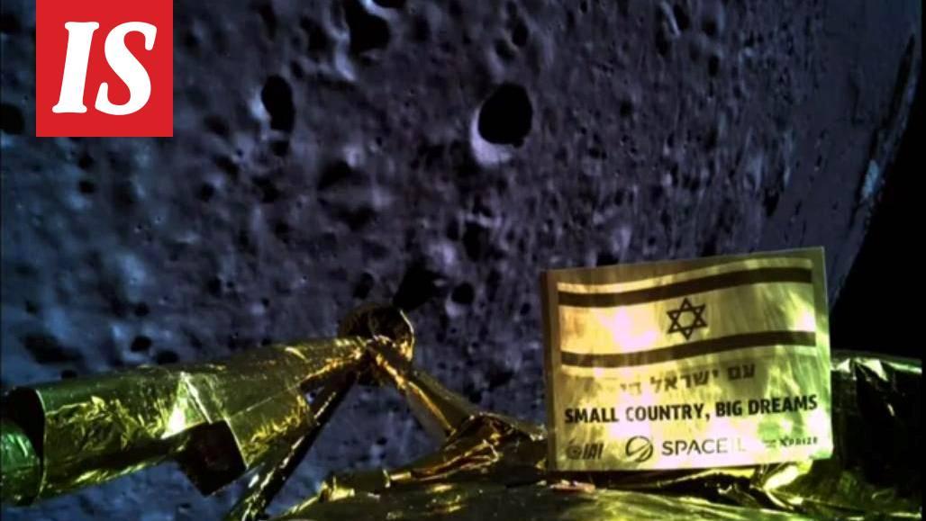 Israelin avaruusalus rysähti Kuun pintaan ja tuhoutui - Tiede - Ilta-Sanomat