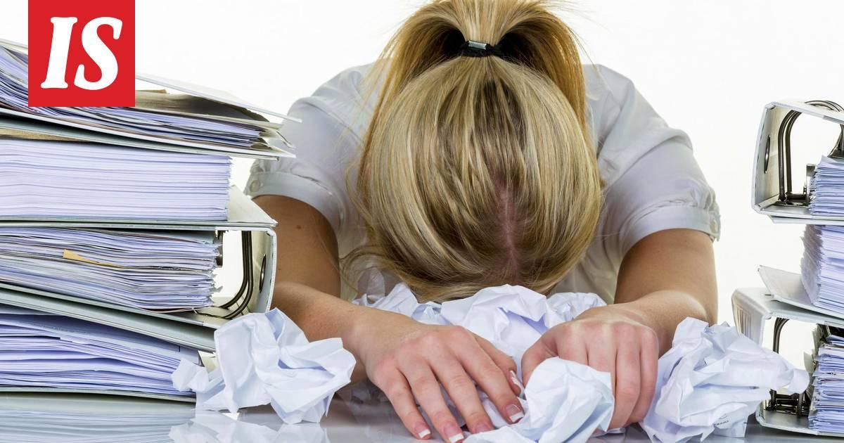 Pohjaton väsymys voi johtua vakavasta sairaudesta