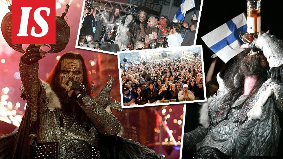 """Tasan 10 vuotta sitten Suomi voitti euroviisut – """"Kuin villiintynyt petoeläin Lordi avasi ..."""