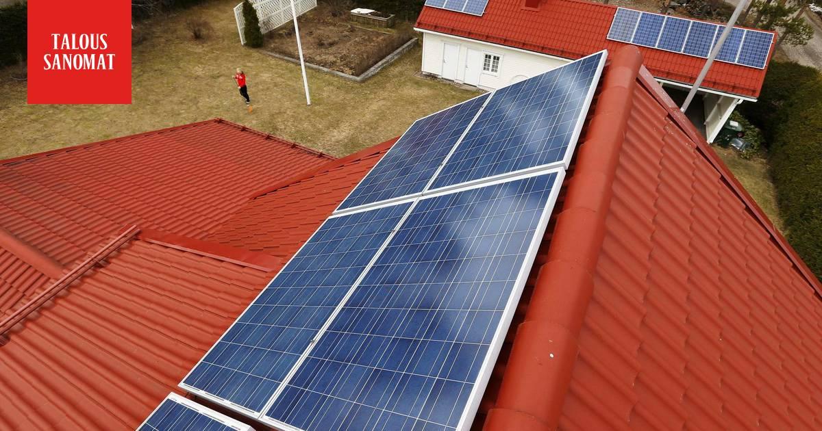 Aurinkopaneelien Hinta