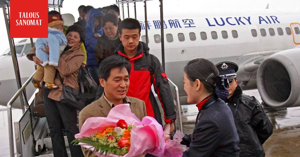 Kiinalaisten turistiryntäys saa lisää ilmaa alleen – Lucky Air aloittaa lennot Helsinki ...