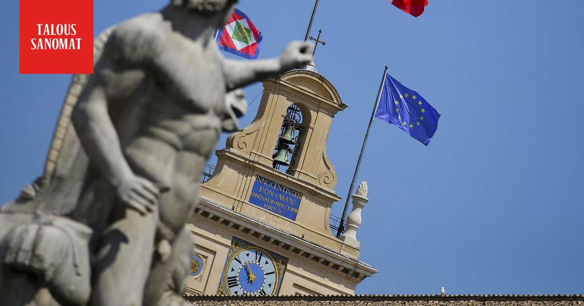 Italian Valtion Velka